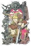 Link and the Legend of Zelda color
