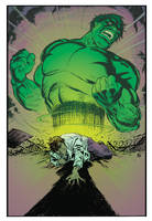Hulk and Banner: Gamma Razed color by deankotz