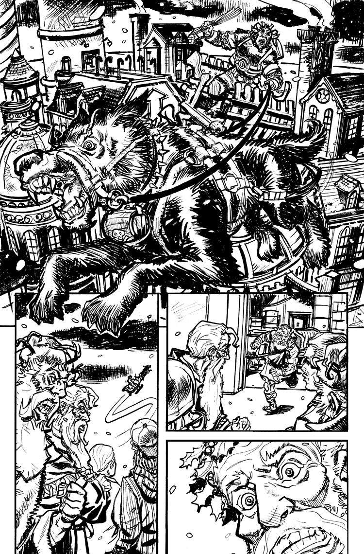 Krampus! Issue #1 Pg 17 by deankotz