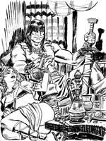 Conan commission by deankotz