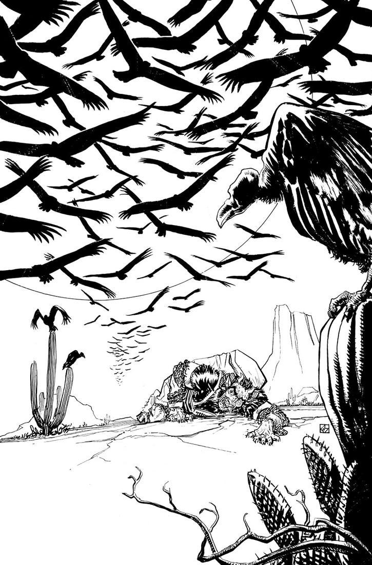Krampus! #3 Cover by deankotz