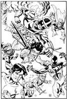 New Warriors by deankotz