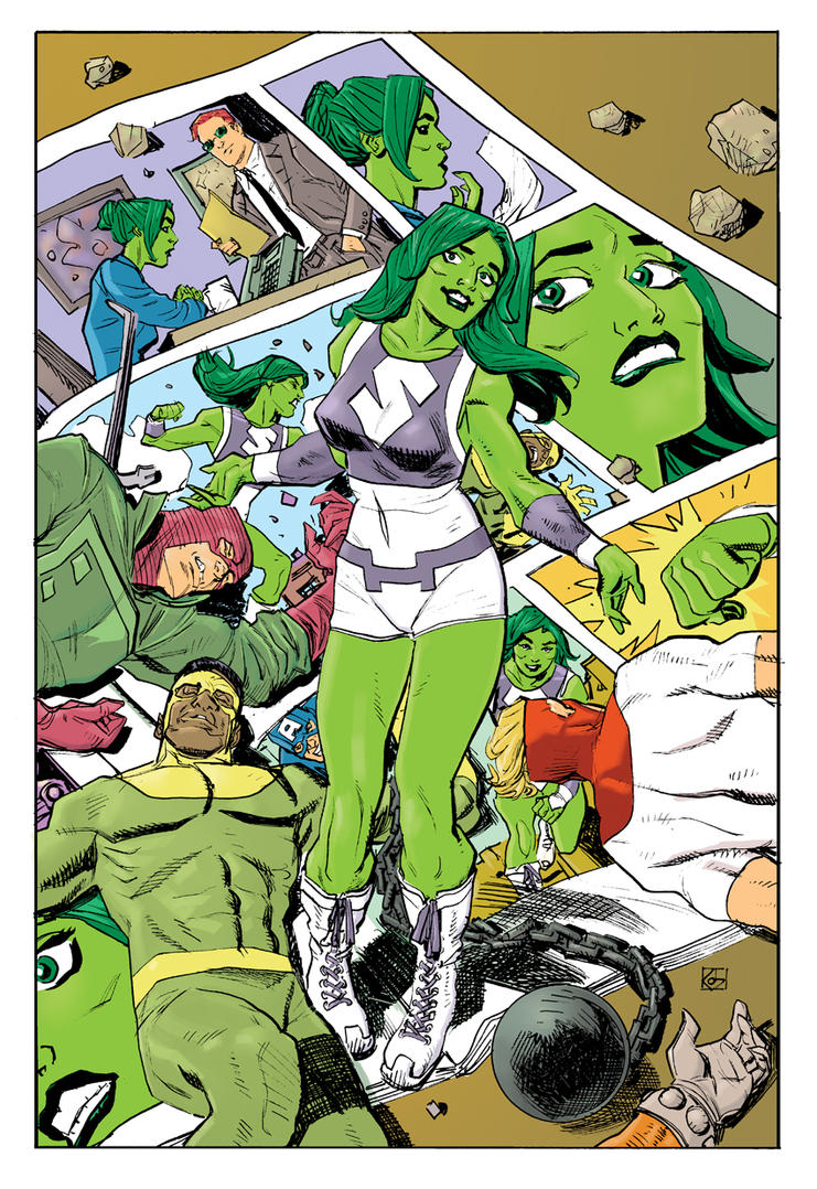 She-Hulk by deankotz