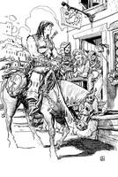 Conan Comes to Town by deankotz