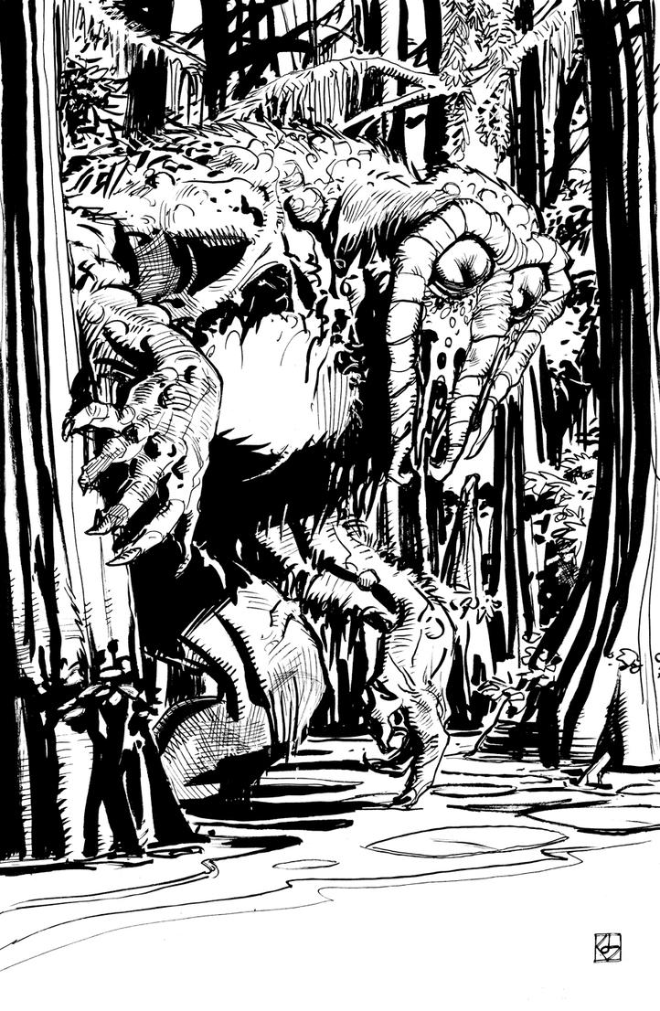 Man-Thing by deankotz