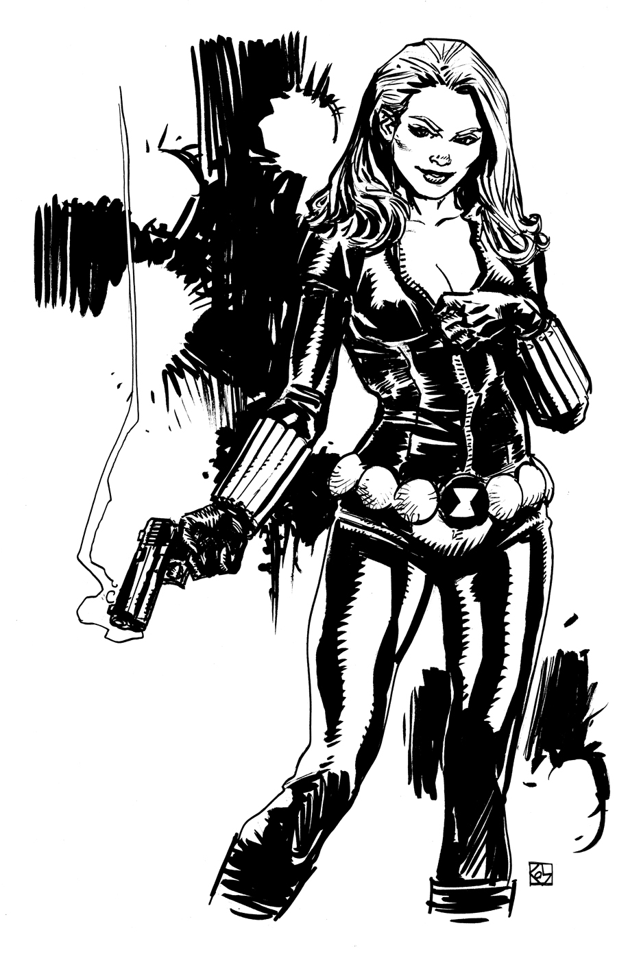 Black Widow by deankotz