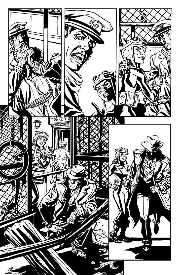 Red Panda #10 pg 5 by deankotz