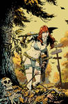 Red Sonja: Bed of Leaves color version