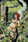 Red Sonja Happy Hour color