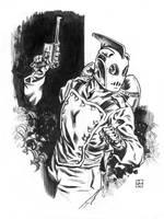 Rocketeer Sketch by deankotz