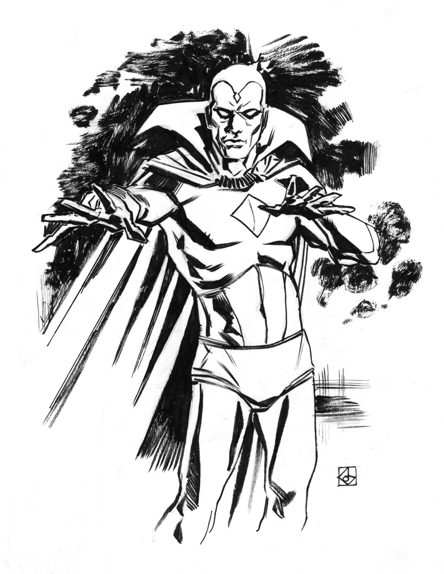 Vision Sketch By Deankotz On DeviantArt
