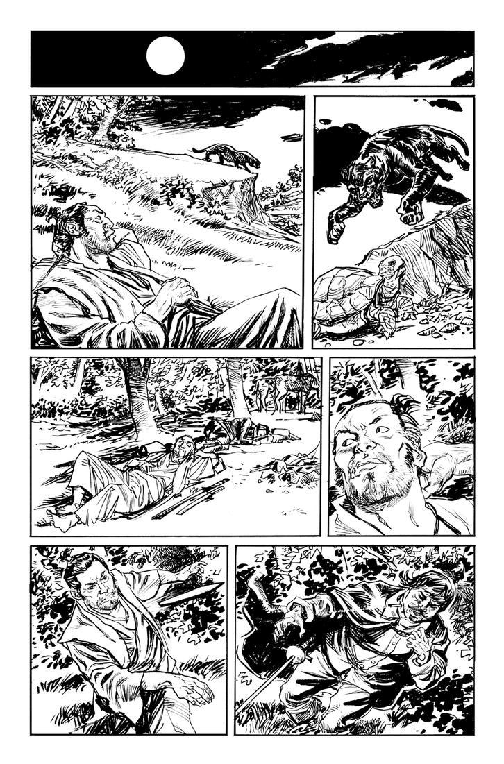 Cimarronin: Fall of the Cross 1 pg 7 by deankotz