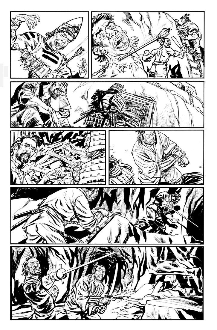 Cimarronin: Fall of the Cross 1 pg 13 by deankotz