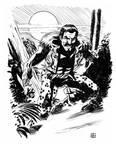 Kraven the Hunter sketch