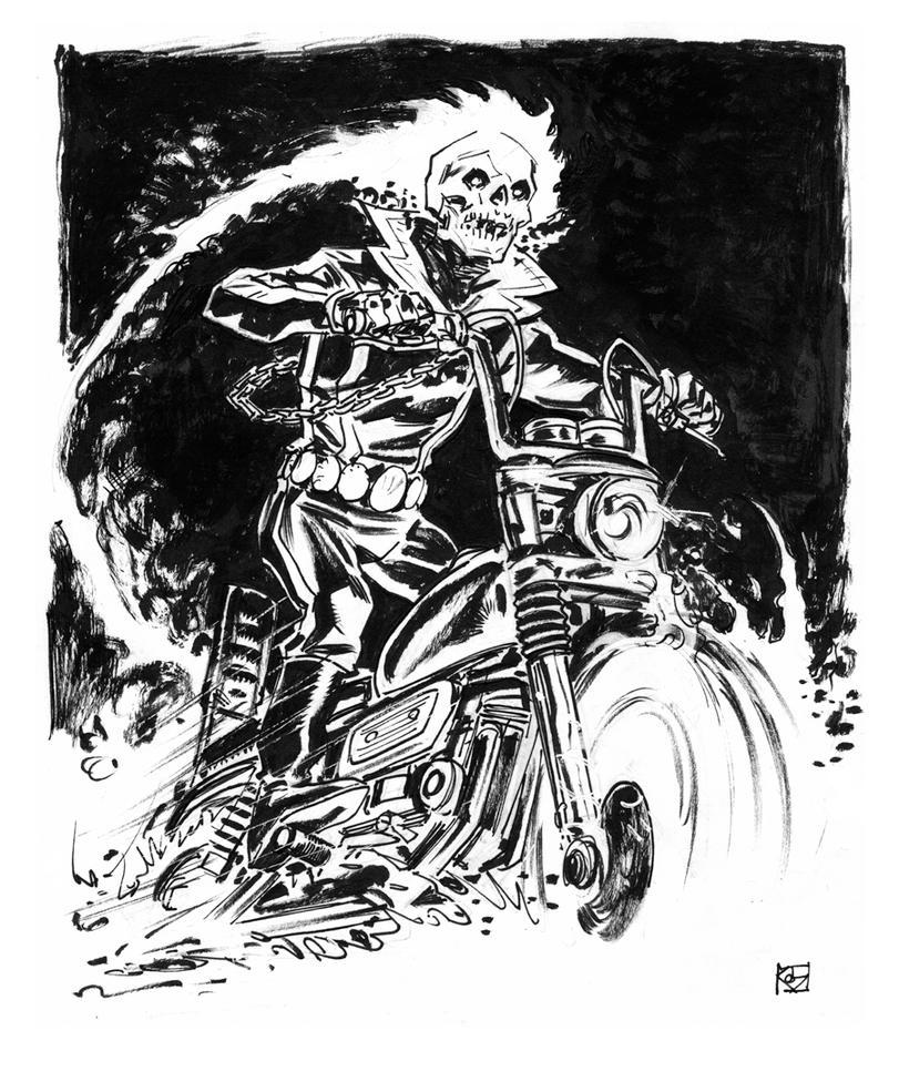 Ghost Rider by deankotz