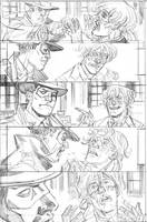 Red Panda #11 pg 8 pencils by deankotz