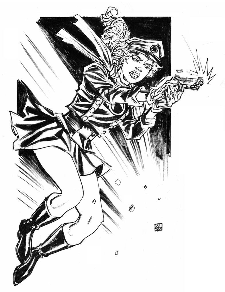 Lady Blackhawk by deankotz
