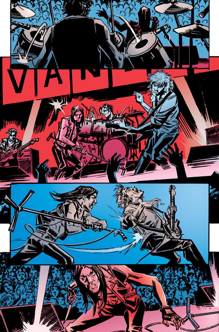 King Vanish pg 10 color by deankotz