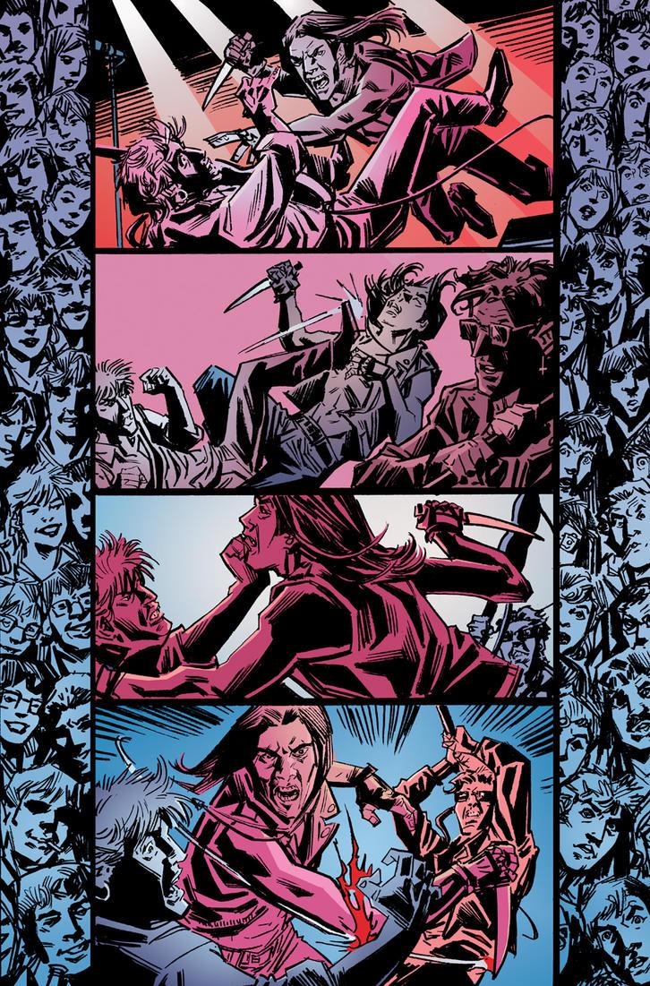 King Vanish pg 11 color by deankotz