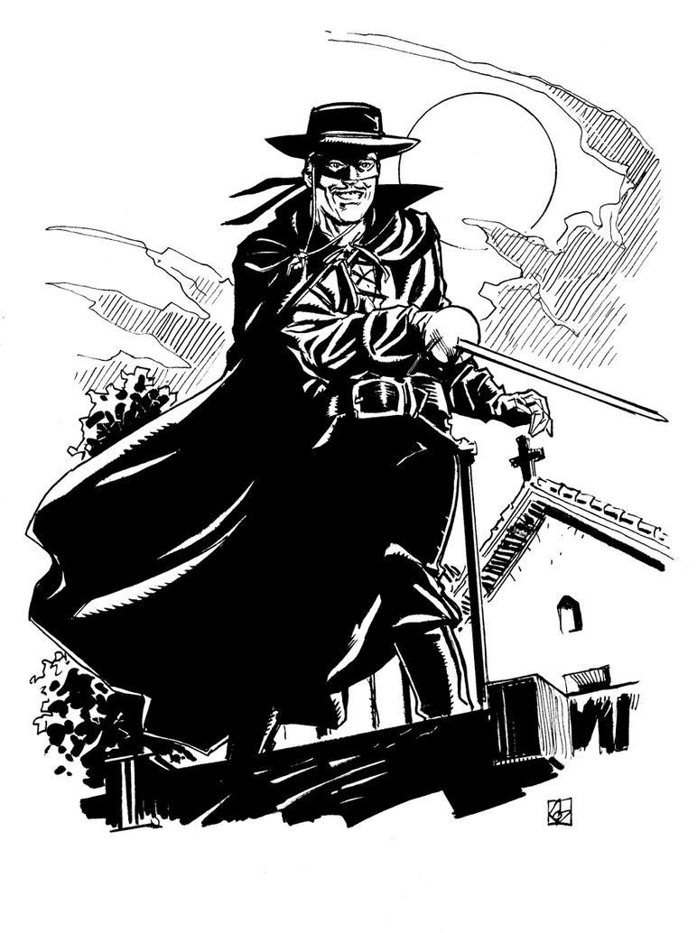 Zorro Sketch By Deankotz On DeviantArt