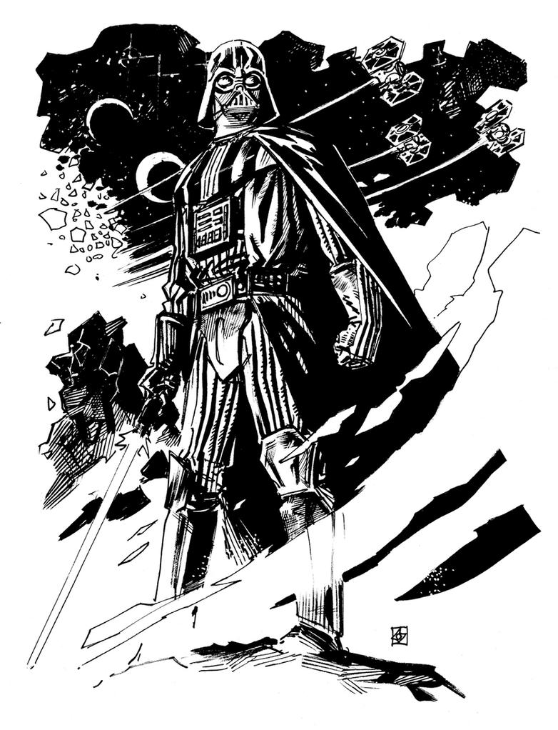 Darth Vader by deankotz