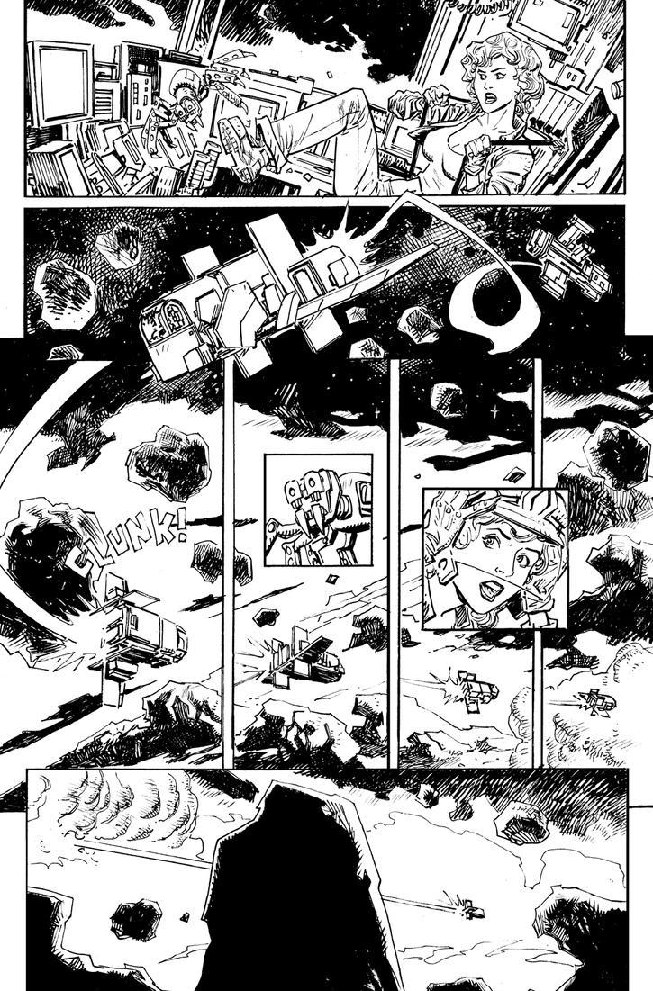 Asteroid 84 pg 1 by deankotz