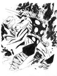 Thor sketch by deankotz
