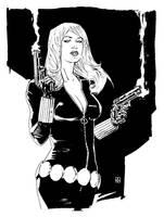 Black Widow by deankotz