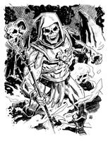 Masters of the Universe: Skeletor by deankotz