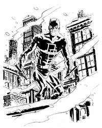 Daredevil: Snow Day in Hell by deankotz