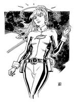 Saturn Girl by deankotz