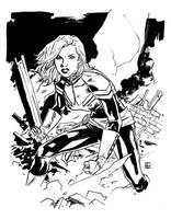 Captain Marvel by deankotz