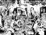 Walking Dead Negan and  Lucille Sketch Cover