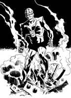 Doom Patrol's Robotman by deankotz