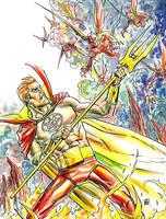 Daimon Hellstrom, Son of Satan by deankotz