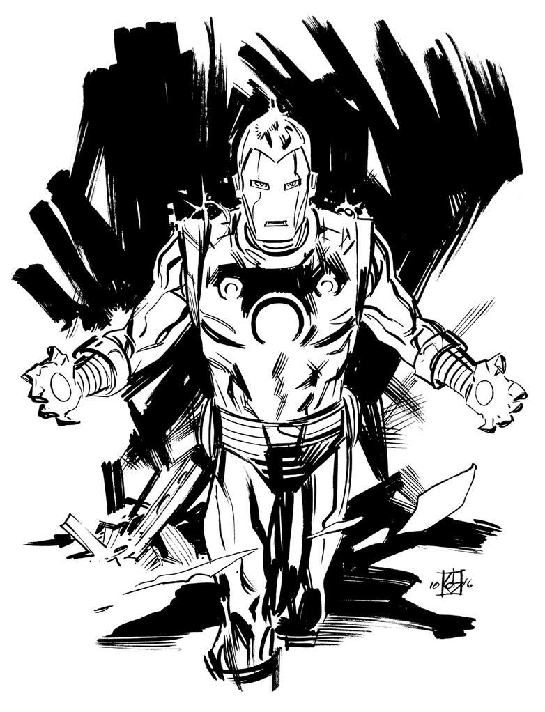 Iron Man by deankotz
