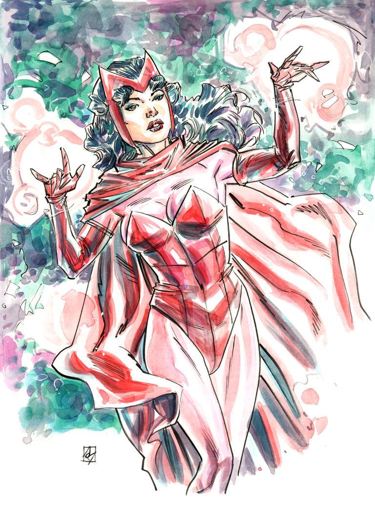Scarlet Witch by deankotz