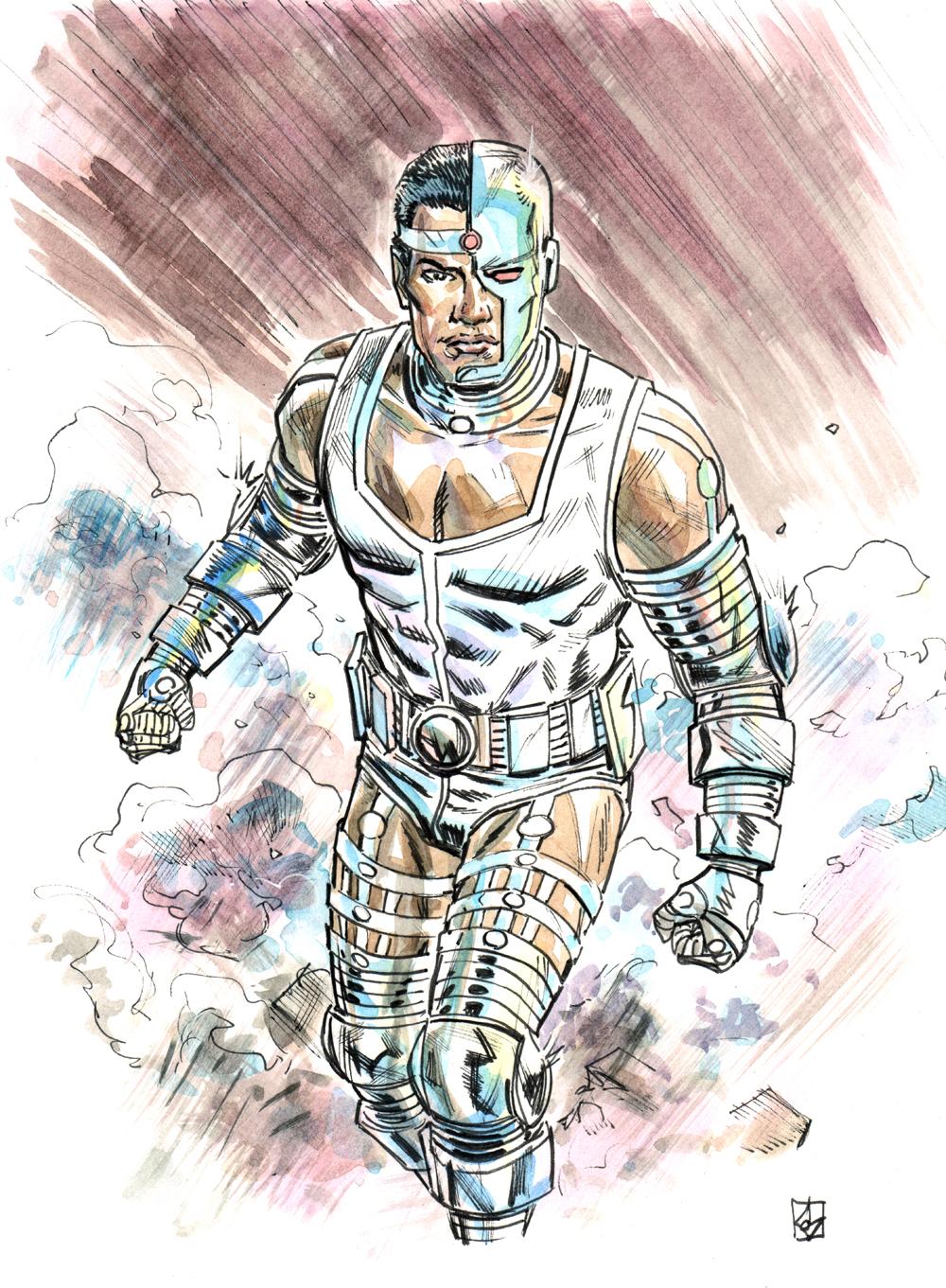 Teen Titans: Cyborg by deankotz