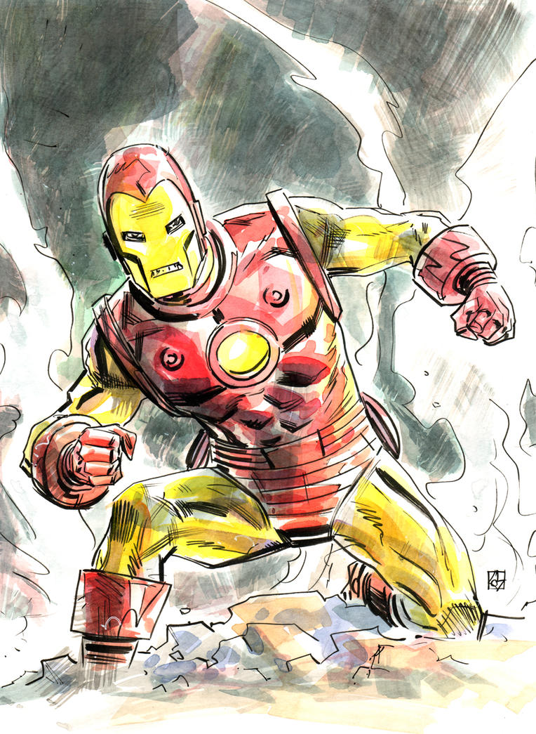 Iron Man by deankotz