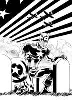Captain America by deankotz