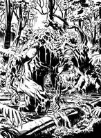 Swamp Thing by deankotz