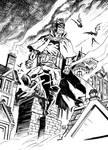 Batman Gotham by Gaslight sketch.