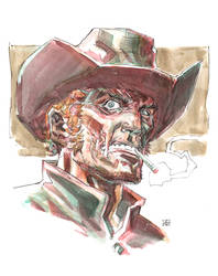 Jonah Hex sketch by deankotz