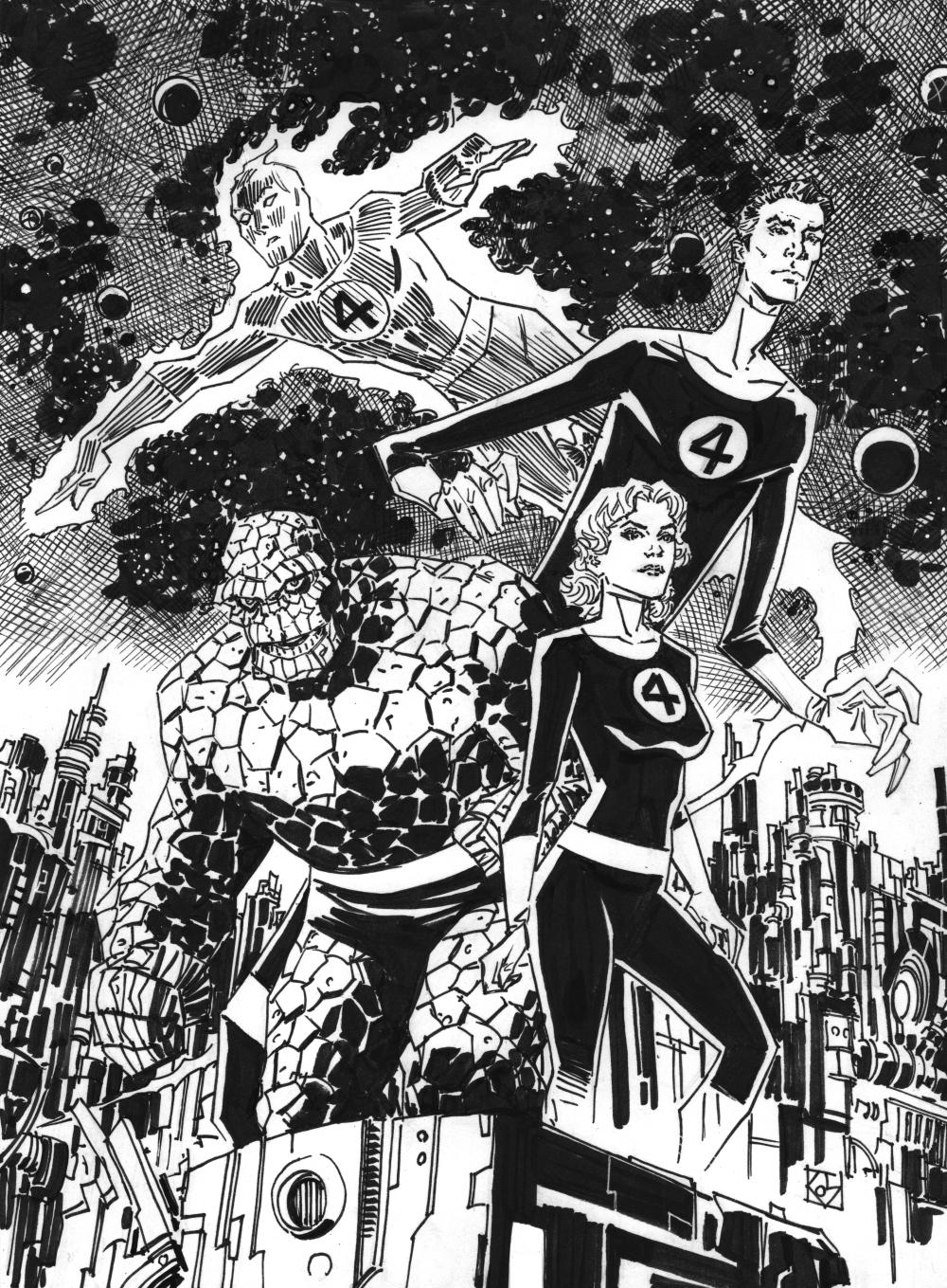 Fantastic Four by deankotz