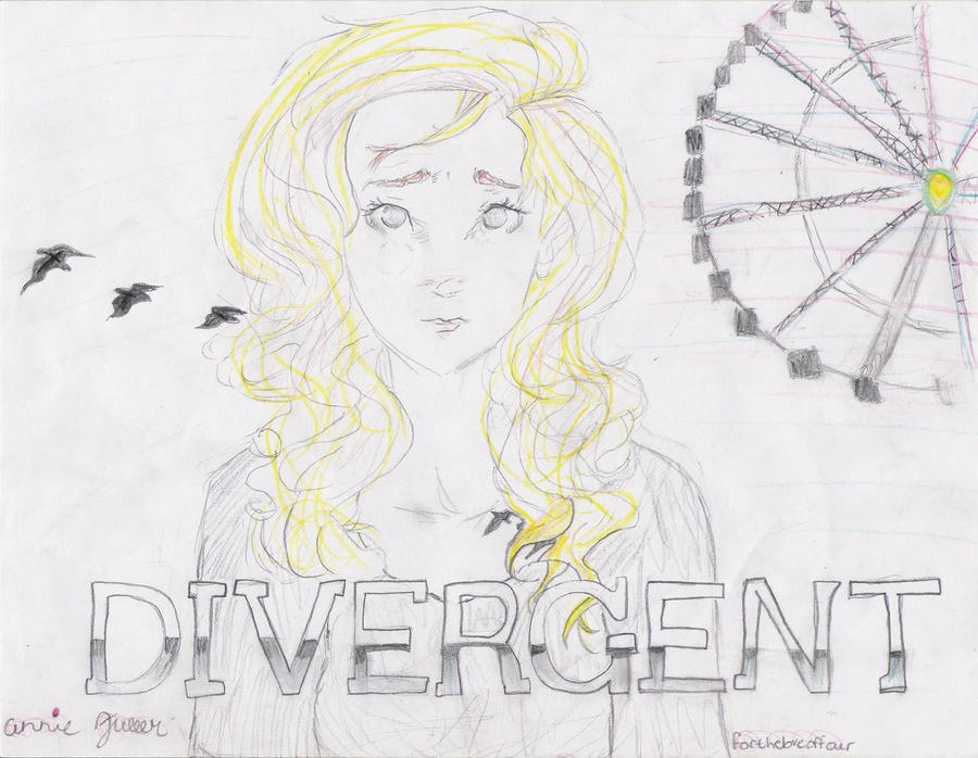 My drawing of Tris from Divergent! by AnnieLikesMuffins on ...