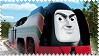 Axel the Belgium Engine Stamp by BlueEngineLiz6