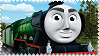 Flying Scotsman Stamp by BlueEngineLiz6