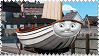 Skiff the Railboat Stamp by BlueEngineLiz6