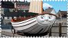 Skiff the Railboat Stamp by BlueEngineLiz6