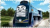 Vinnie the Canadian Engine Stamp by BlueEngineLiz6